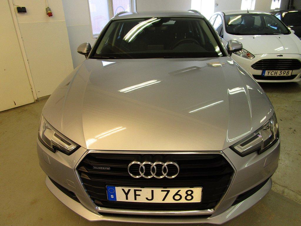 Audi A4 Avant 2.0 TDI quattro S Tronic Pro Line Euro 6 190hk