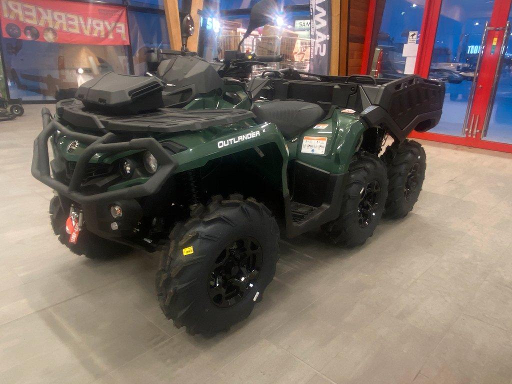 Can-Am Outlander 6X6 650 XU+ SW Traktor B