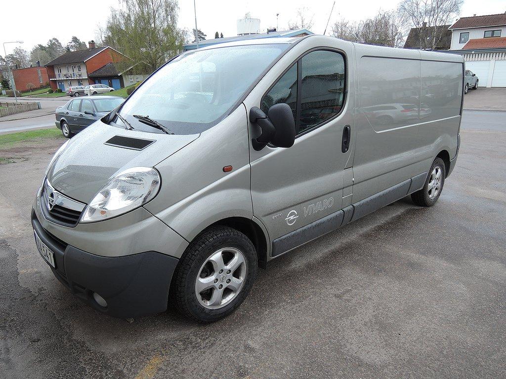 Opel Vivaro Skåp L2H1 2,0CDTI 114hk  DPF Euro 5