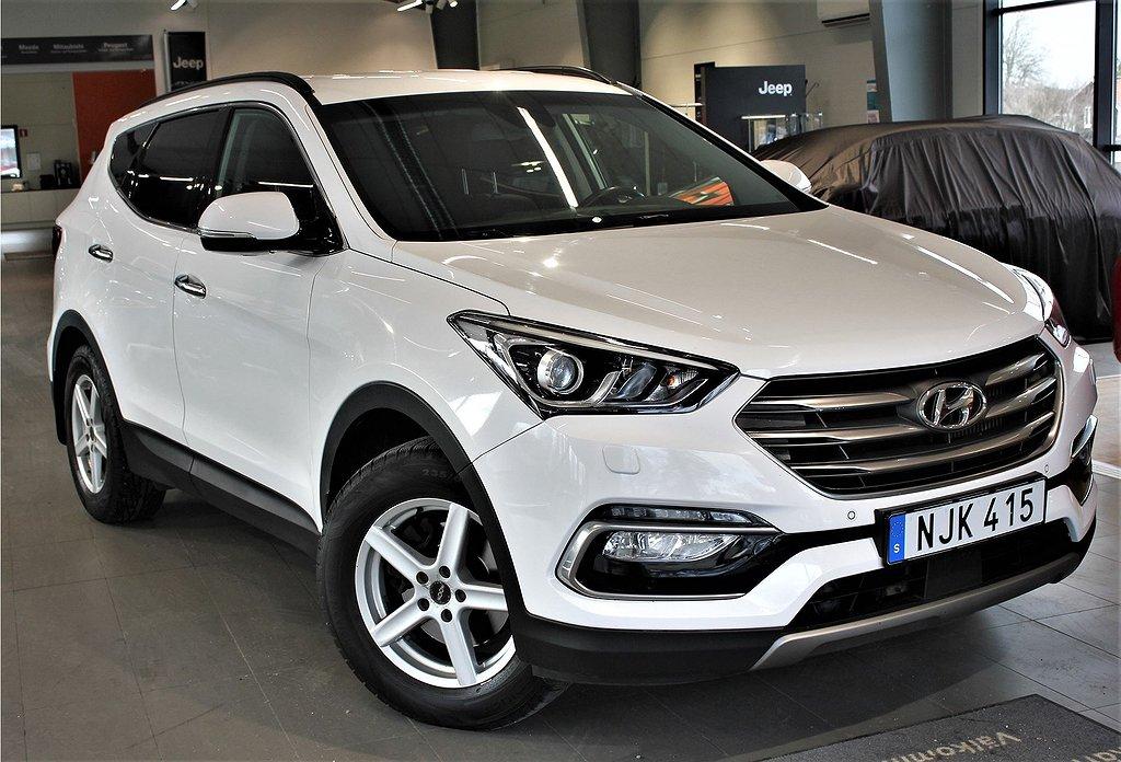 Hyundai Santa Fe Premium 2.2 CRDi 200hk Aut 4WD 7-Sits - Drag. Backkamera