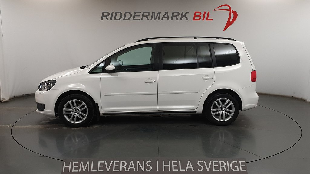 VW Touran 1.6 TDI BlueMotion Technology (105hk)