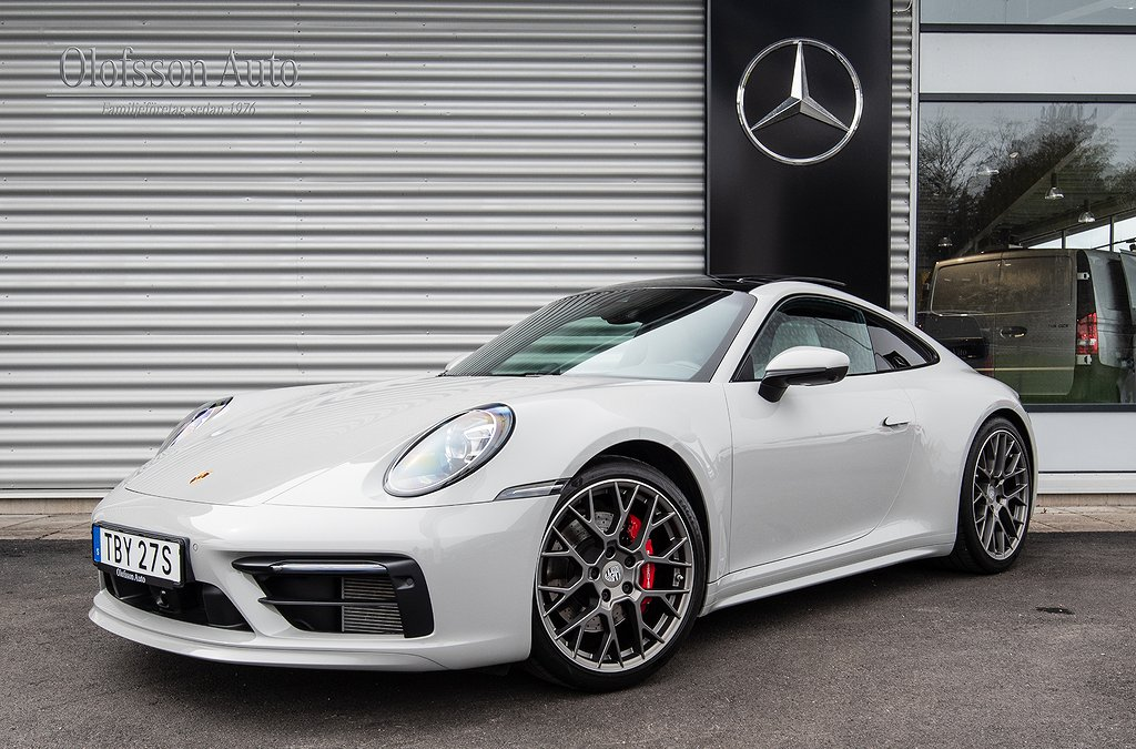 Porsche 911 992 Carrera S Sport Design Panorama