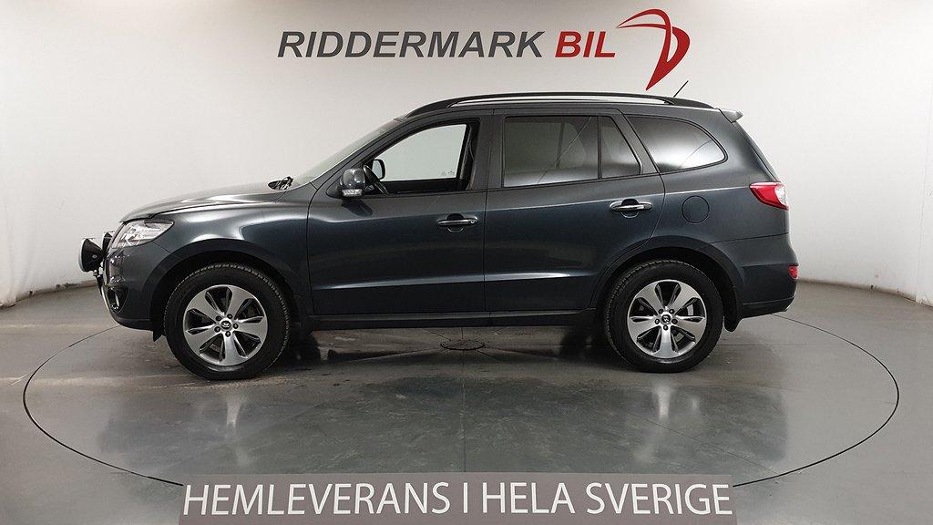 Hyundai Santa Fe 2.2 CRDi 4WD M-Värm Drag Skinn Nyservad