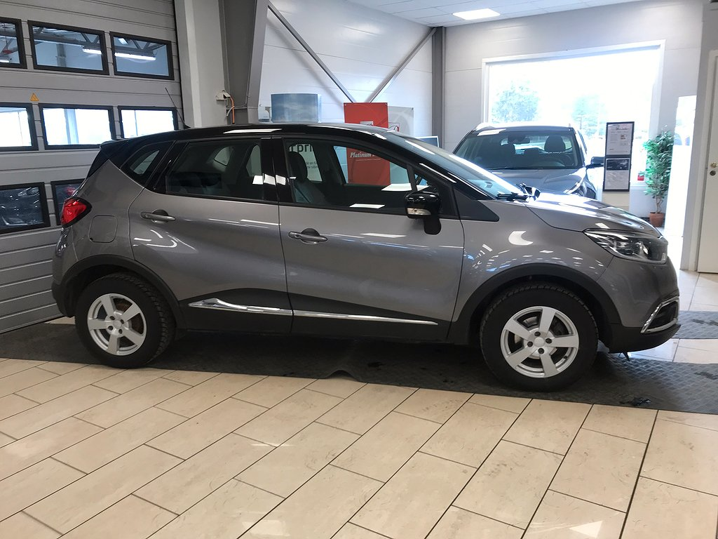 Renault Captur TCe 90hk M-Värmare/Årskatt 404kr