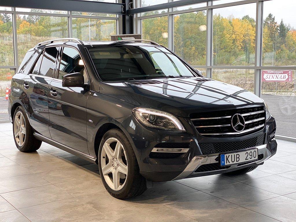 Mercedes-Benz ML 350 258hk/BlueTEC/4MATIC/Panorama