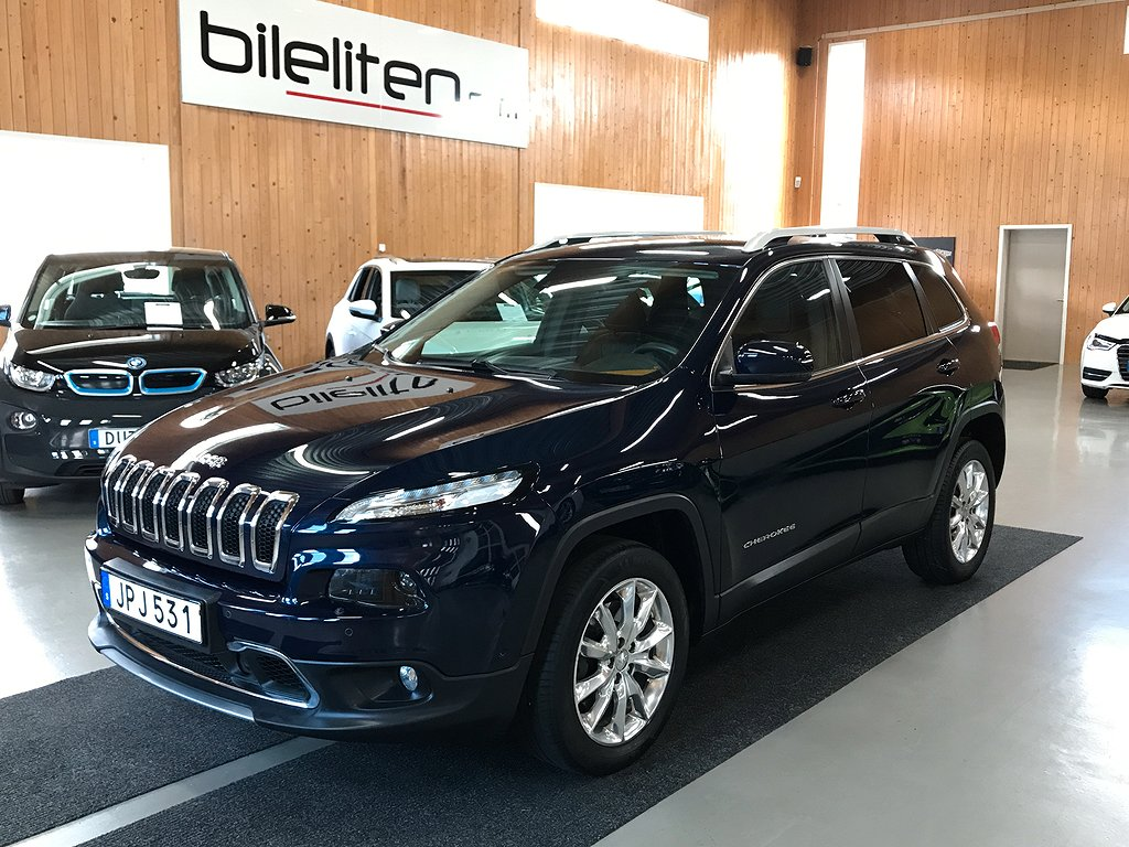 Jeep Cherokee 2.0 CRD Limited 4WD Aut GPS 170hk