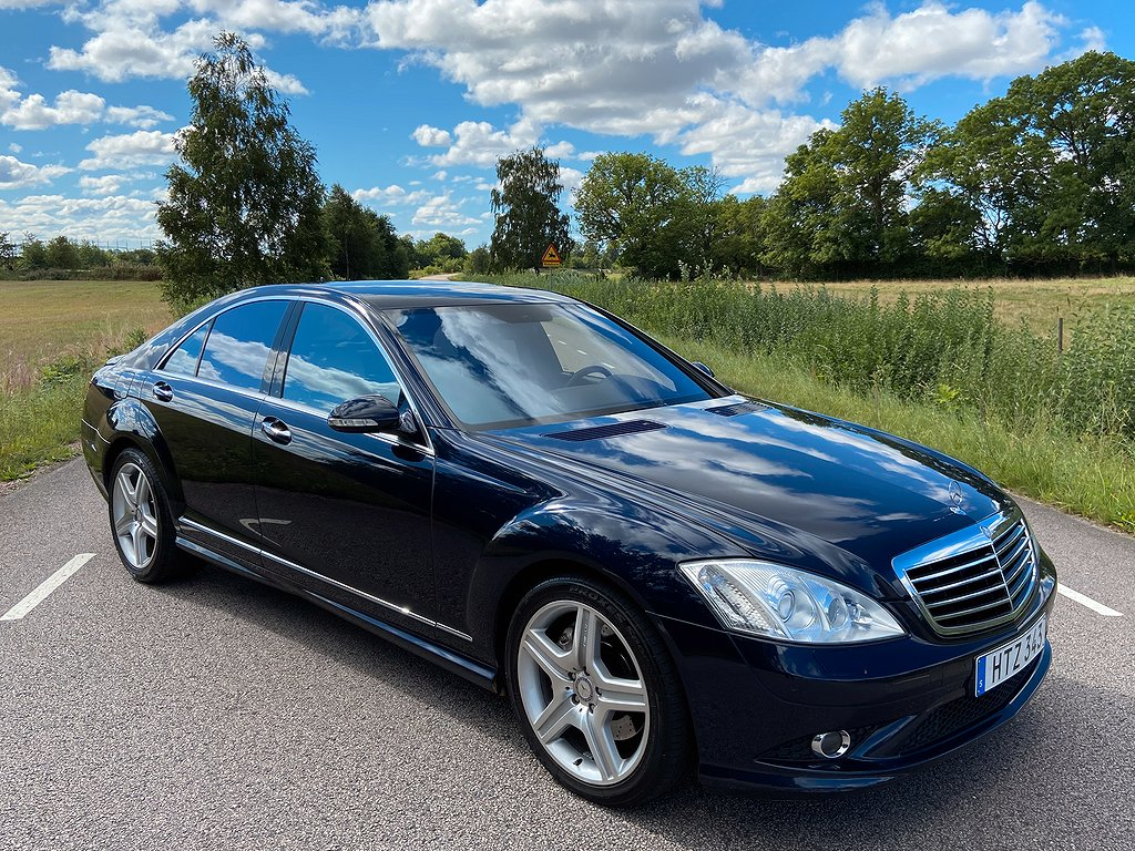 Mercedes-Benz S 420 CDI Svensksåld 320hk
