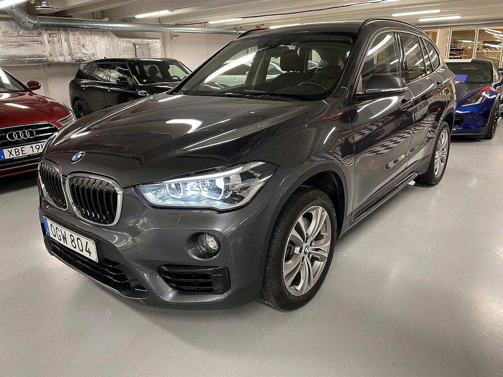 BMW X1 X Drive 20d Sport line Euro 6 190hk Nav Hud