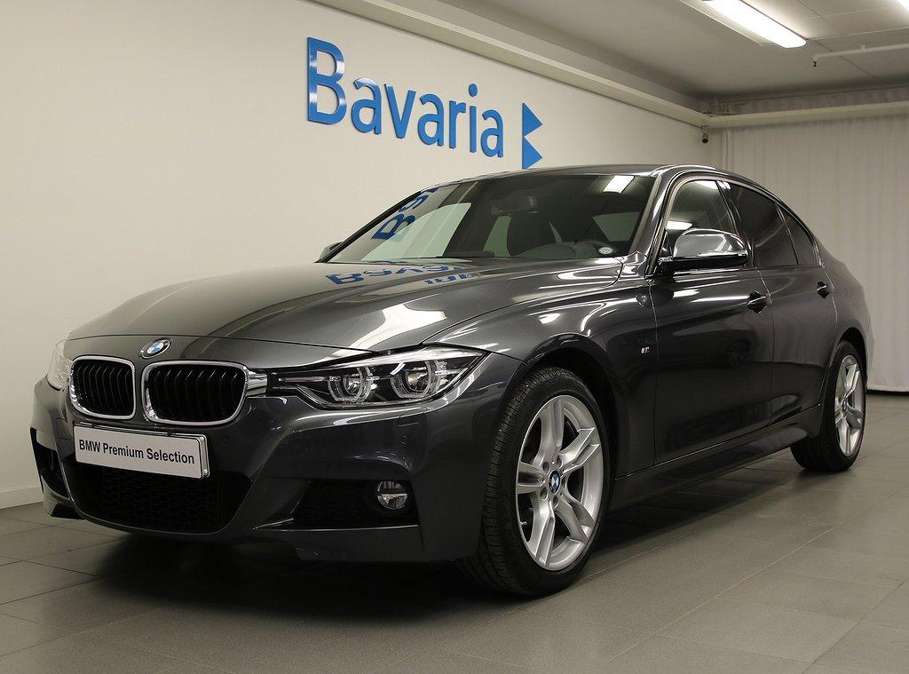 BMW 320 i xDrive Sedan INK NYA V-HJUL M sport Nav Drag
