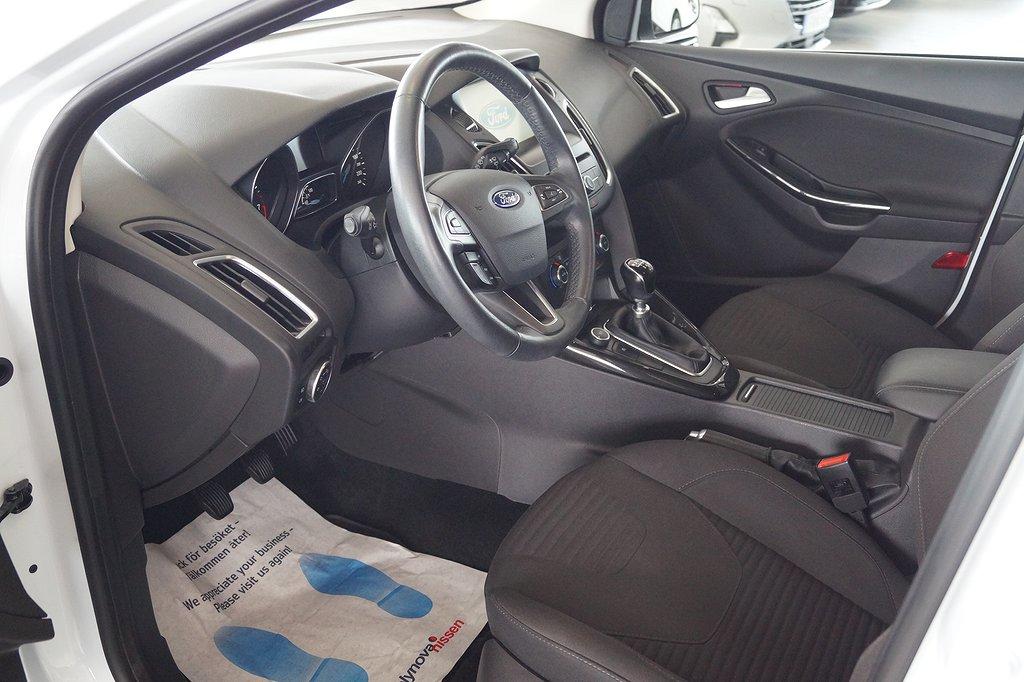 Ford Focus 1,95%, Bränsle 5000:-, 1.0 EcoBoost  125hk Titanium, Kombi