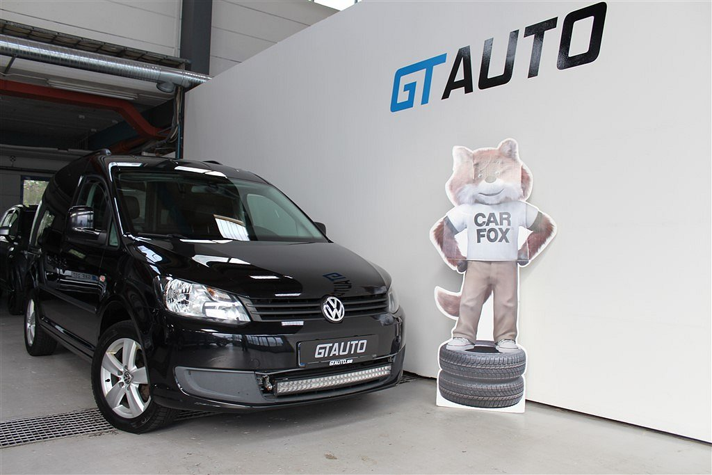 Volkswagen Caddy 1.6TDI 102hk Värmare Leasbar Bluetooth