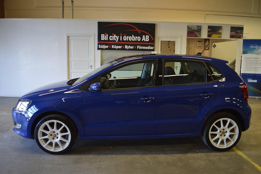 Volkswagen Polo 5-dörrar 1.2 (90hk) TSI Comfortline / Panoramatak / Låga Mil / N