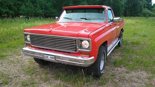 Chevrolet C20 Regular Cab V8 454 Automat 1976.