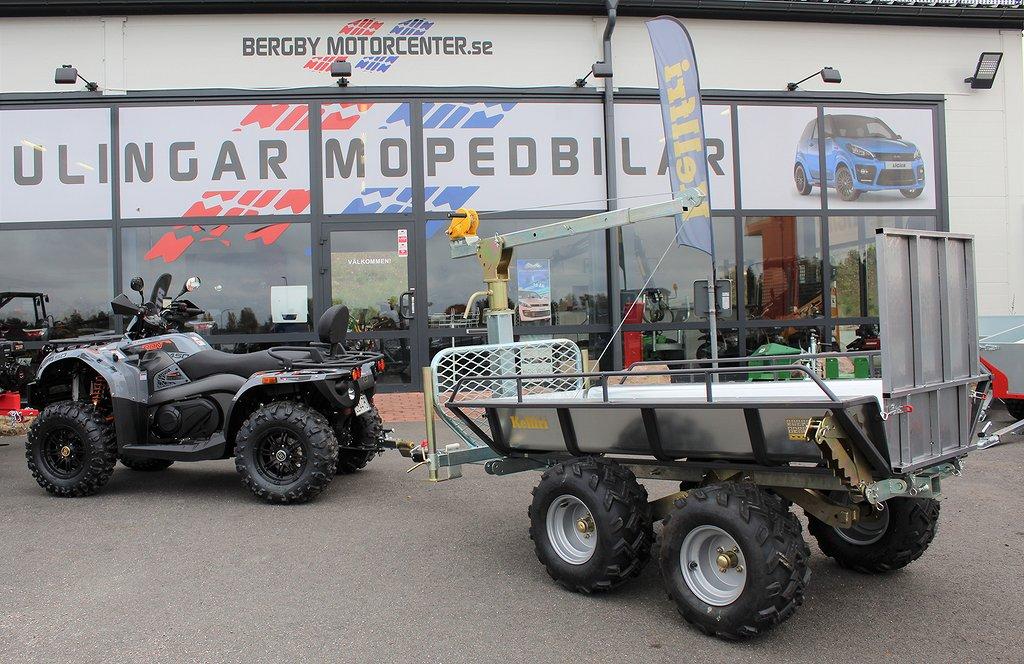 Goes Iron MAX EPS 450  + Tipp- och skogsvagn *Höstkampanj*