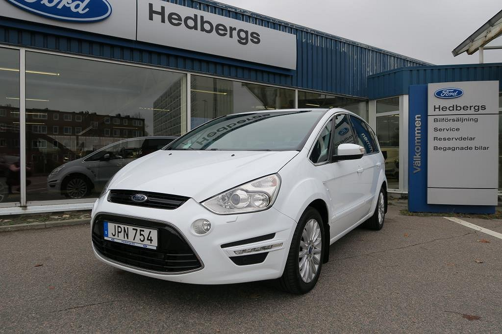 Ford S-Max BUSINESS ED 2.0TDCI 163HK AUTOMAT