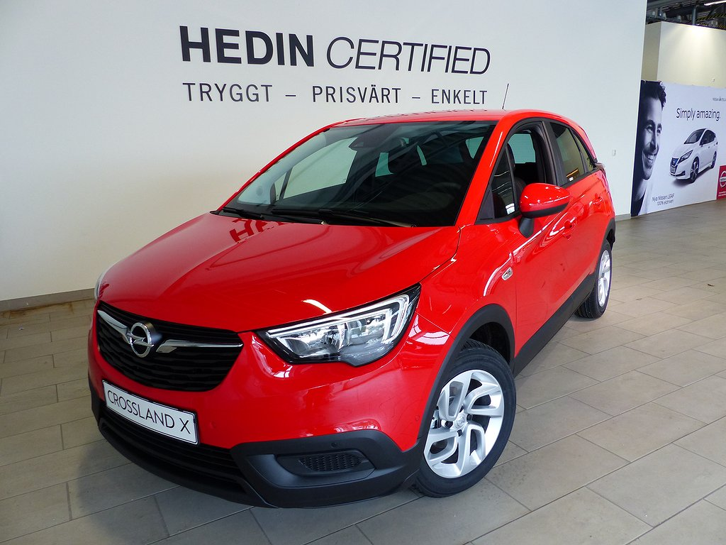 Opel Crossland X Enjoy X 1.2 81hk