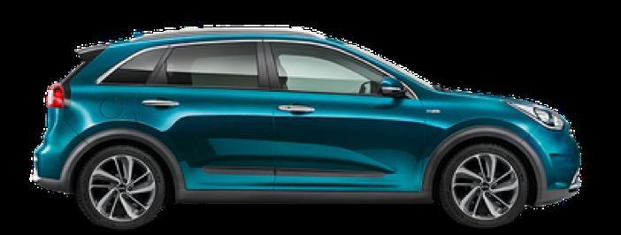 Modellbild av en Kia e-Niro