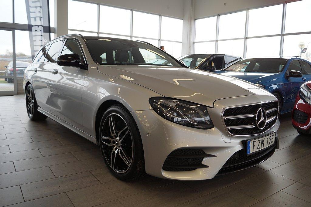 Mercedes-Benz E 220 d 4MATIC // AMG // Premiumpaket // Värmare 194hk