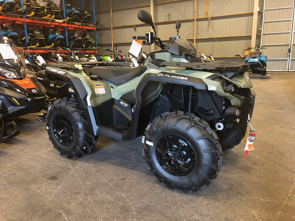 Can-Am Outlander Pro + 570 T3 -20