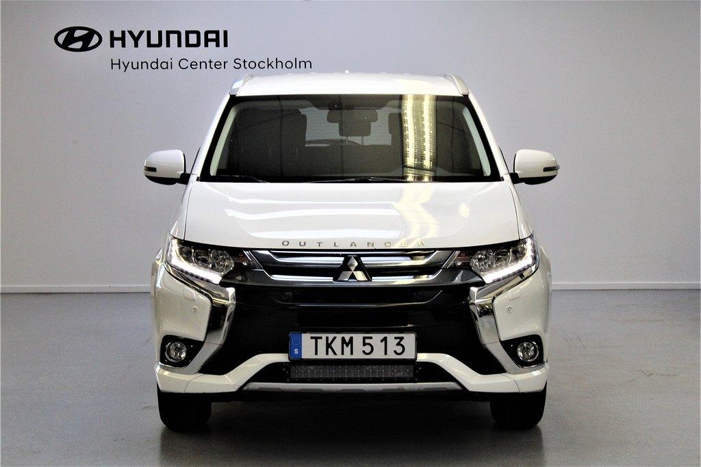 Mitsubishi Outlander P-HEV 2.0 Hybrid 4WD CVT MOMS-bil 203hk
