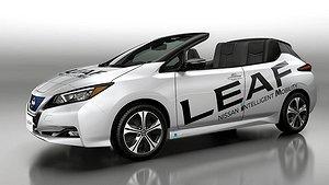 Nissan kapar taket av Leaf
