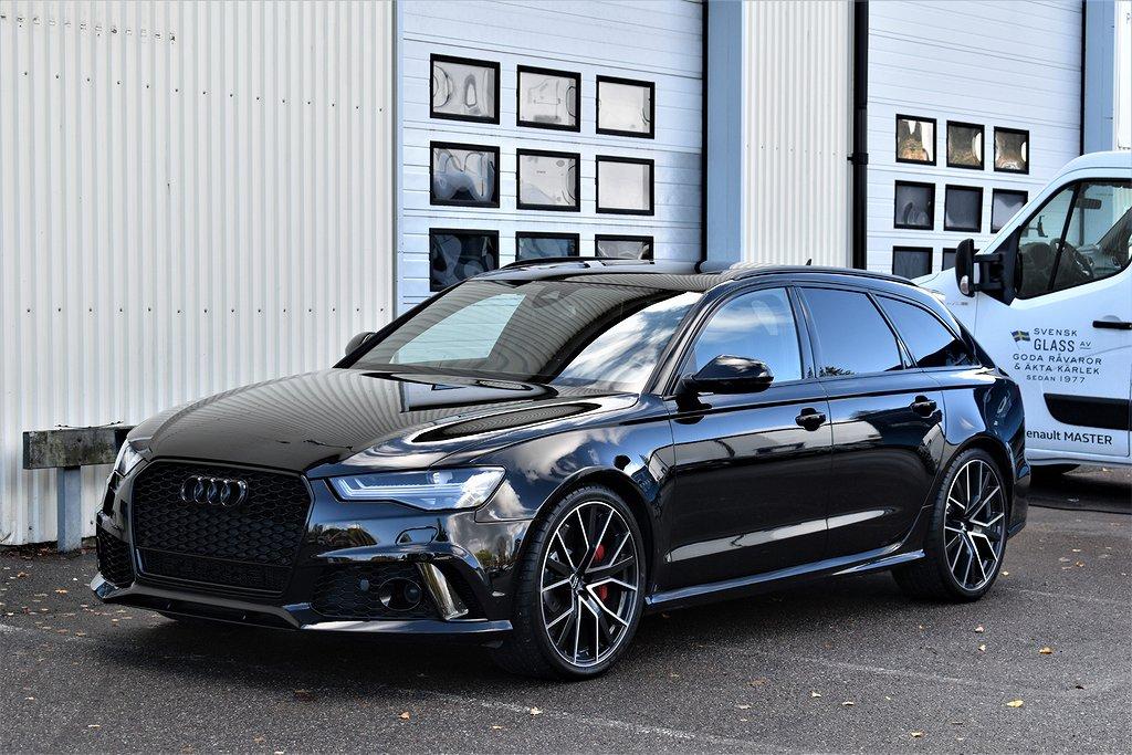 Audi RS6 4.0TFSI Performance 605Hk Sv-Såld