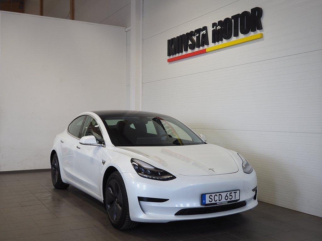 Tesla Model 3 Standard Range Plus 258hk SVENSKSÅLD 2020