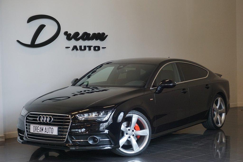 Audi A7 3.0TDI Q MATRIX S-LINE FRÅN 2500KR