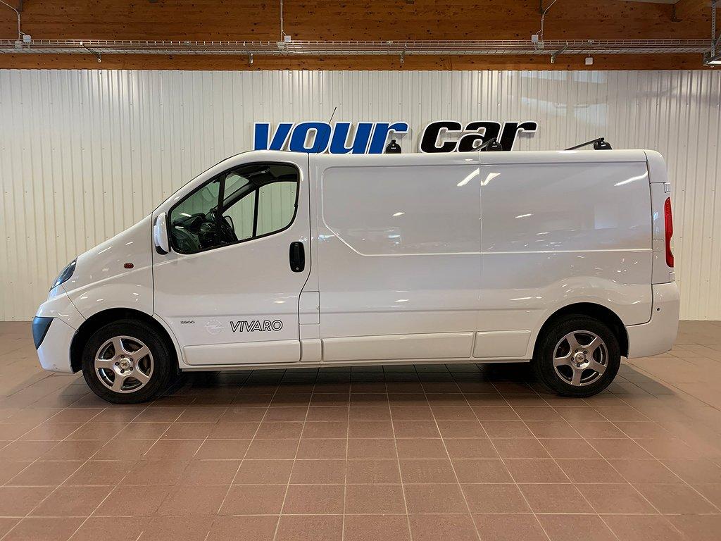 Opel Vivaro Van 2.0 dCi 115hk Värmare Drag