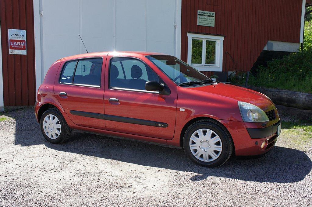 Renault Clio 5-dörrars Halvkombi 1.2 Expression 75hk