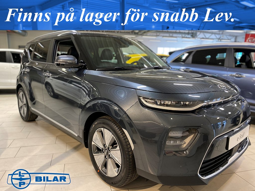 Kia E-SOUL Advance Plus Long range, 204hk (Lager) Snabb Lev