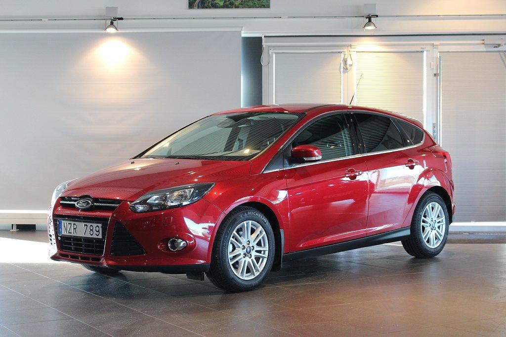 Ford Focus Titanium 5-Dörrar Ecoboost 100HK En Brukare