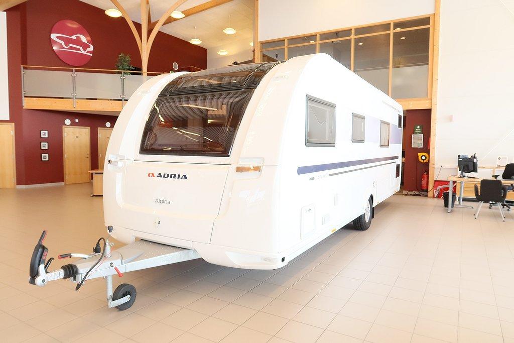 Adria Alpina 663 UK (Barnkammarvagn+ALDE+3-våning)