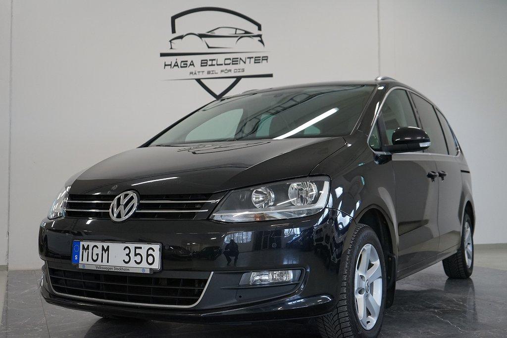 Volkswagen Sharan 2.0 TDI 4Motion Premium 7-sits 140hk,navi