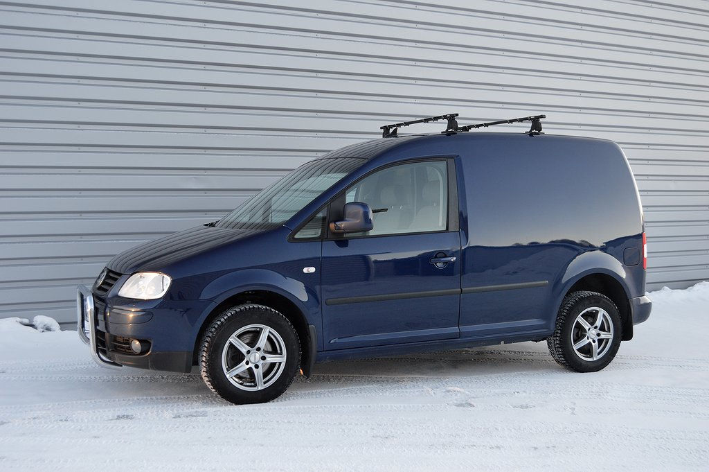 Volkswagen Caddy Skåp TDI 105 4Motion