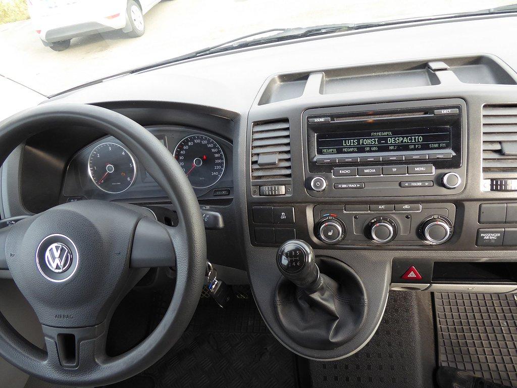 Volkswagen Transporter 140 HK Lång 3 -Sits Nyservad