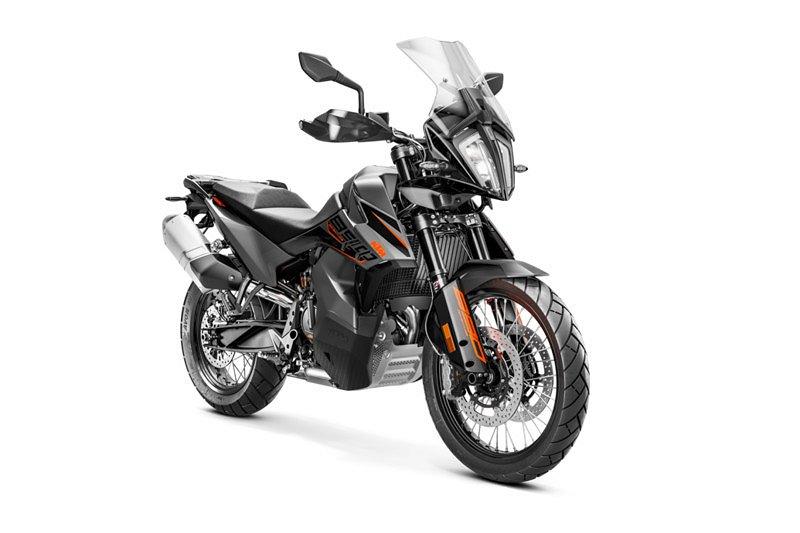 KTM 890 Adventure Svart 2021