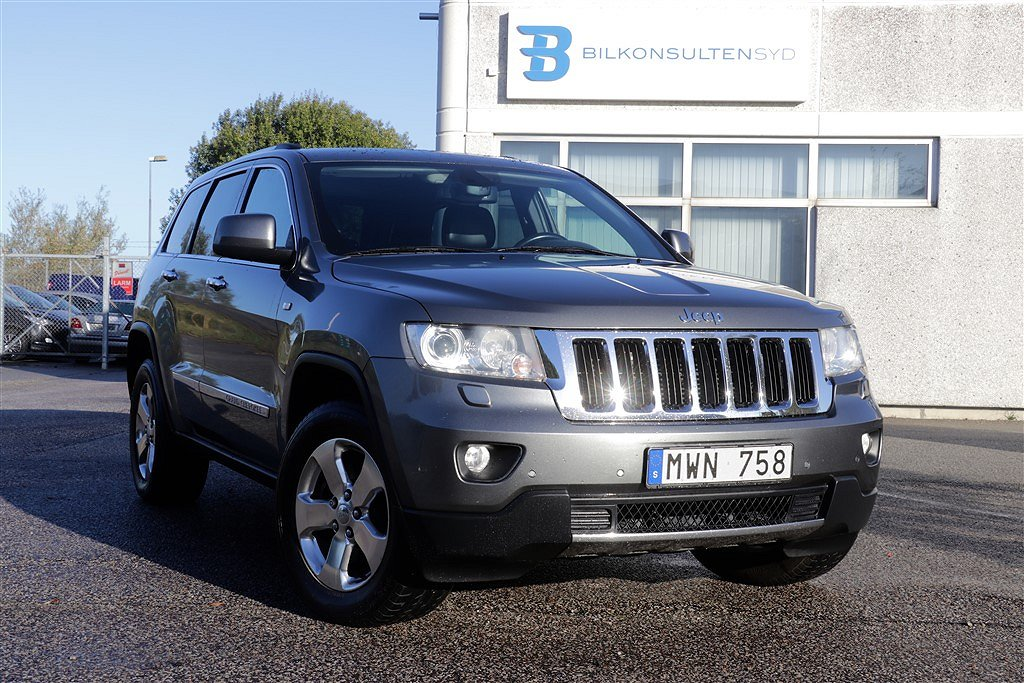 Jeep Grand Cherokee 3.0 V6 CRD 4WD Automatisk, 241hk