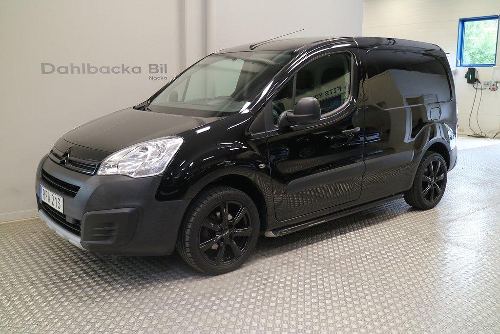 Citroën Berlingo ALL BLACK skåp HDI