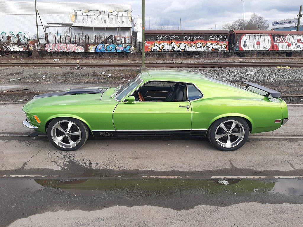 Ford Mustang Mach I 5.8 V8 Automat