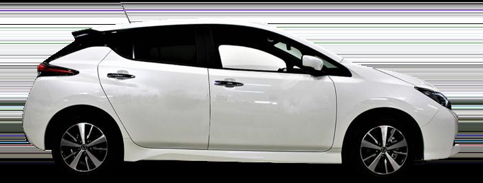 Modellbild av en Nissan Leaf