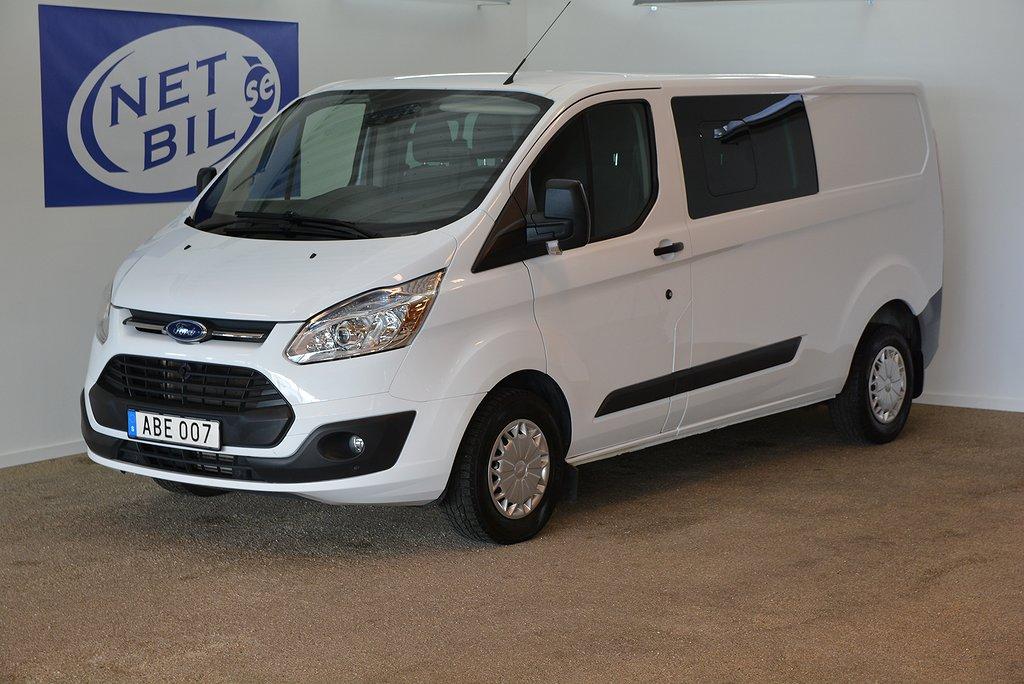 Ford Transit Custom Dubbelhytt 310 L2 Värmare Drag Kamera