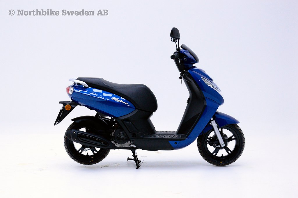 Peugeot Kisbee 4-takt Deep ocean blue