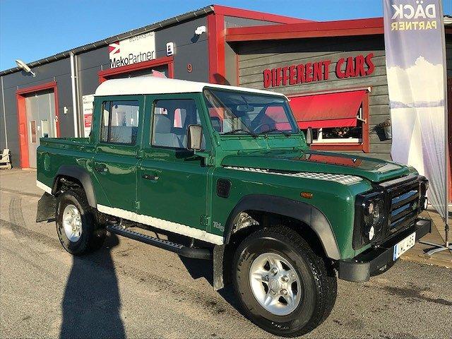 Land Rover Defender 110 Dubbelhytt Pick Up 2.5 TD5 4x4 122hk