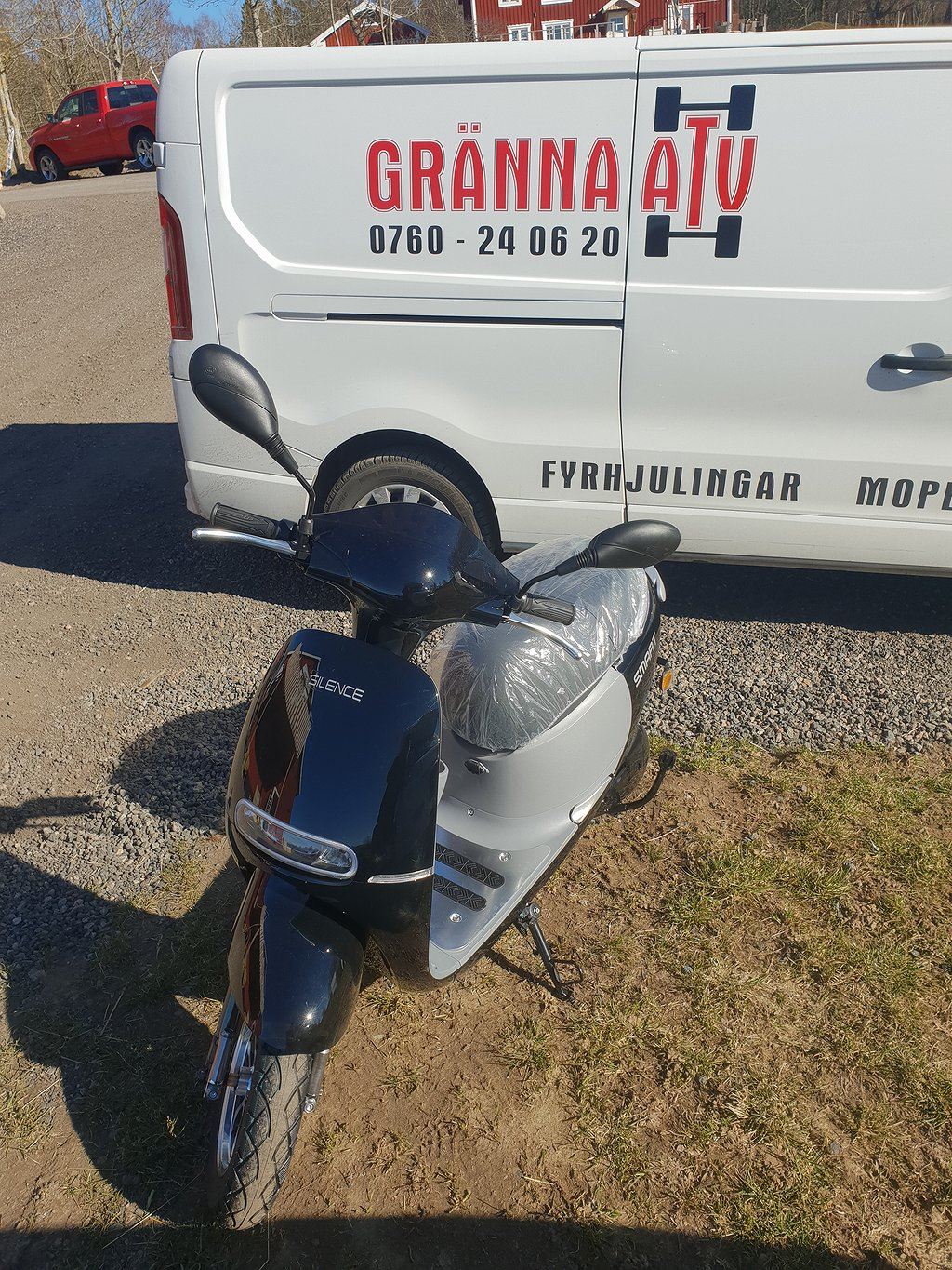 Silence Smart Elmoped Omg Lev! Gränna ATV