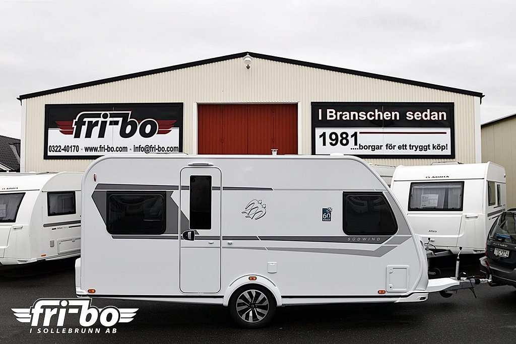 Knaus 450 FU Südwind 60 Years Celebration Dubbelbädd