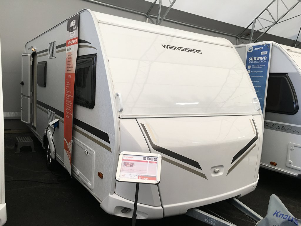 Weinsberg CARAONE 480 QDK READY TO CAMP
