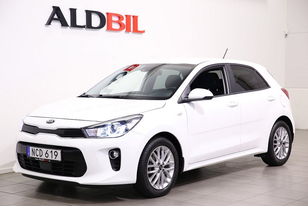 Kia Rio 1.2 84hk Advance Plus / Vinterhjul / 2.99% Ränta