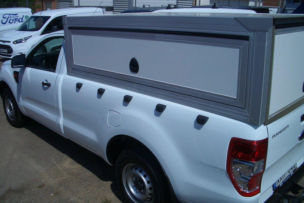 Ford Ranger Regular Cab 2.2 TDCi 2WD (125hk) Påbyggt skåp AC, mm