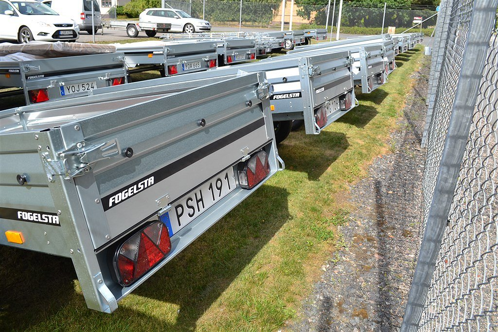 Fogelsta 4015U Båttrailer / Båtupptagningsvagn